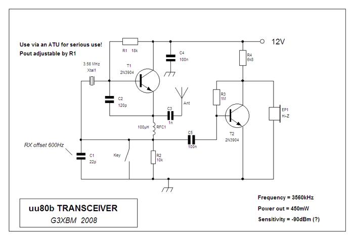 Самый простой трансивер своими руками 84