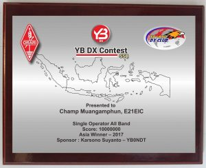 YB DX SSB CONTEST